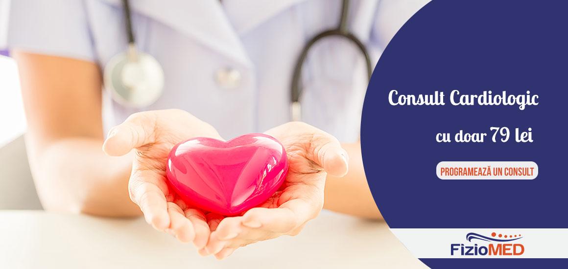 Ofertă Limitată: Consult Cardiologic cu doar 79 lei!