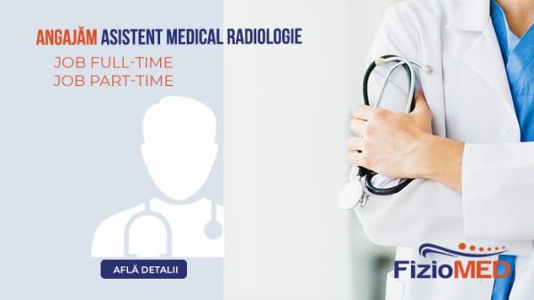Angajăm asistent medical radiologie