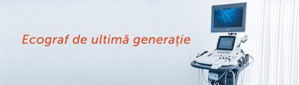 Ecograf de ultimă generație în cadrul Centrului medical Fiziomed!