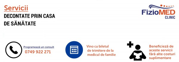 Servicii medicale decontate de C.N.A.S Ortopedie şi traumatologie